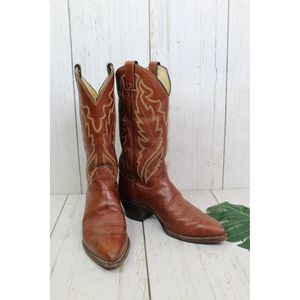 Justin brown work boots